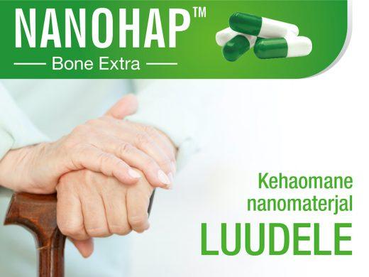 NANOHAP™ Bone Extra – kehaomane nanomaterjal luudele