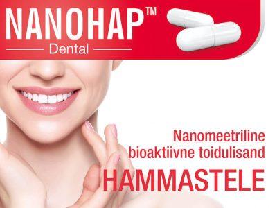NANOHAP™ Dental – nanomeetriline bioaktiivne toidulisand hammastele