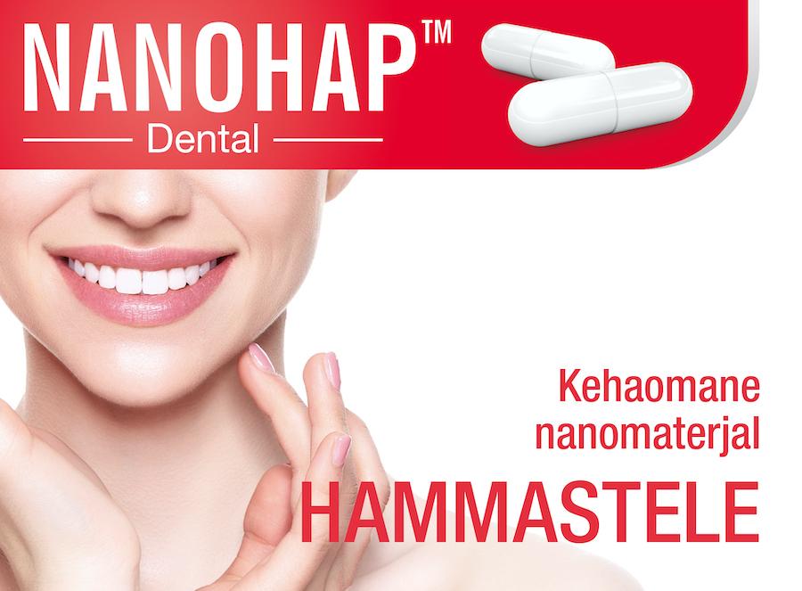 NANOHAP™ Dental - kehaomane nanomaterjal hammastele
